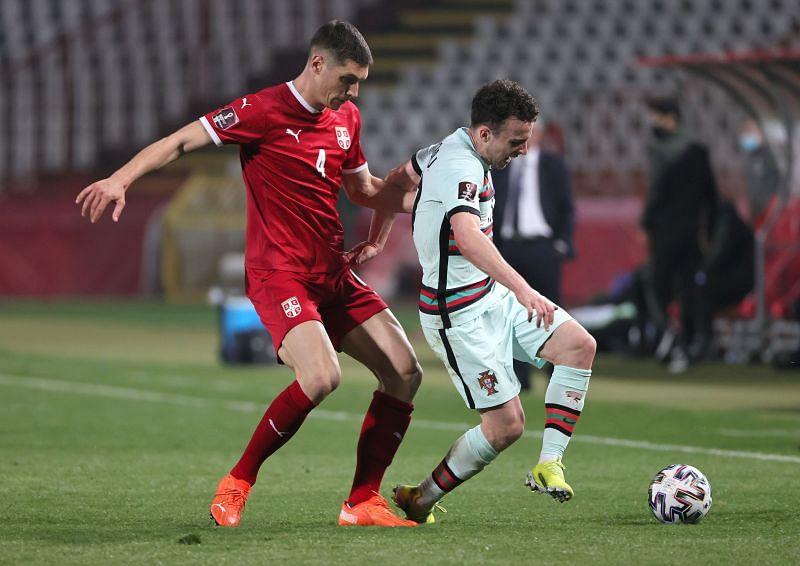 Diogo Jota scored a brace for Portugal