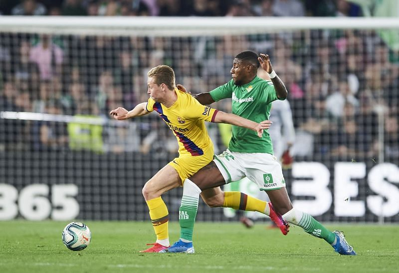 Real Betis wing-back Emerson Royal is reportedly an Arsenal target