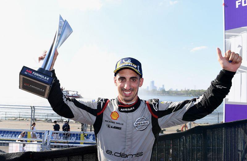 Sebastien Buemi (Nissan e.dams), New York City E-Prix - Photo: LAT/Formula E, with permission.
