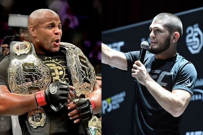 EDaniel Cormier was thrilled to receive the five-star medal by Khabib Nurmagomedov