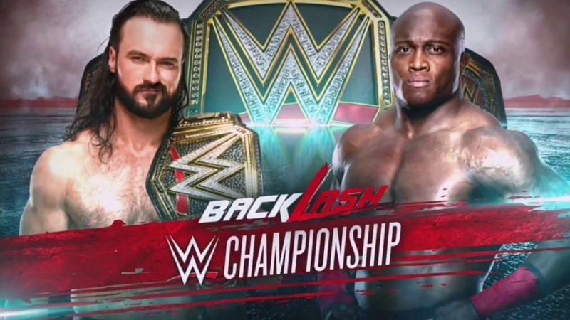 Drew McIntyre vs Bobby Lashley at Backlash 2020 (Credit: WWE)