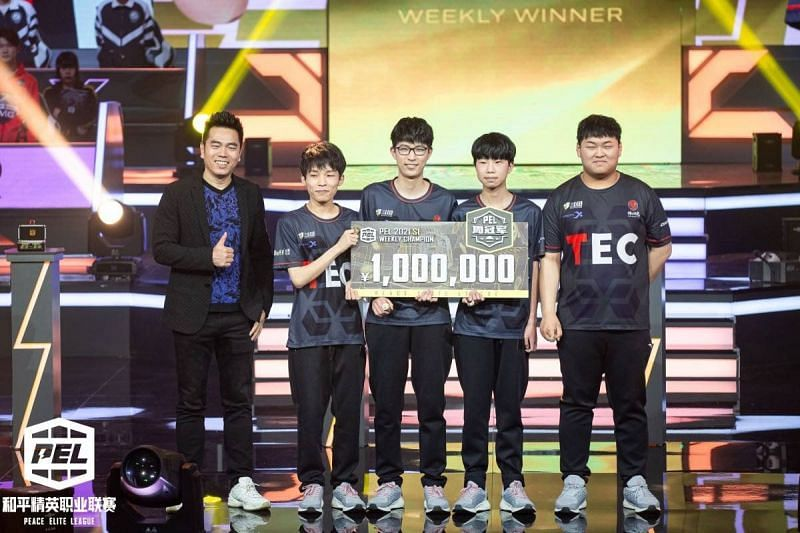 TEC won the PEL 2021 S1 Week 1 crown