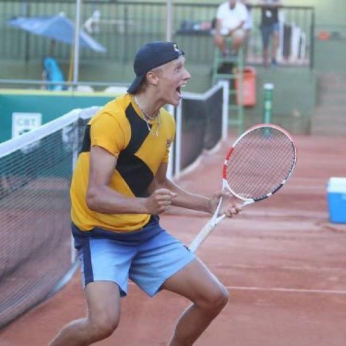 Leo Borg (Image Credit - ITF Tennis Twitter handle)