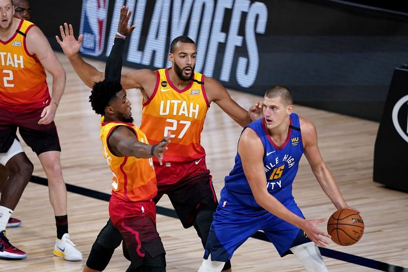 Donovan Mitchell and Rudy Gobert are both fit and firing for the Utah Jazz