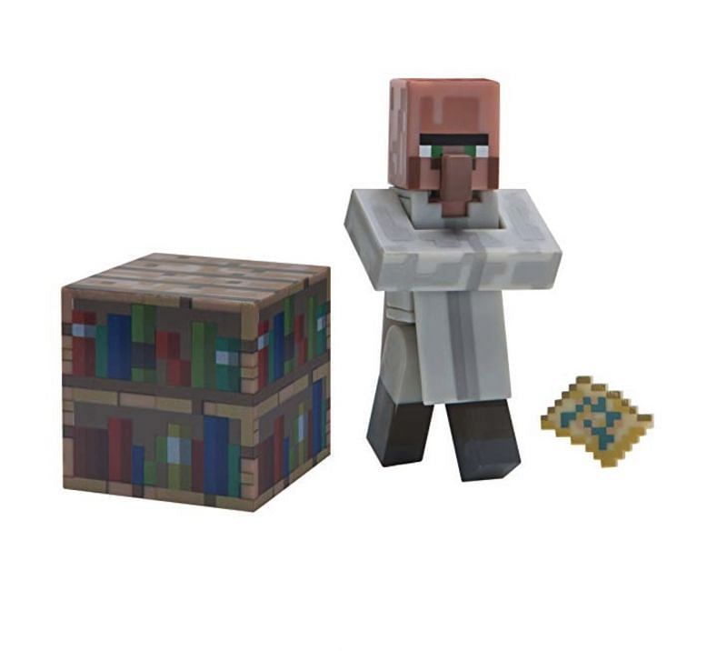Minecraft librarian villager (Image via levelupoutfitters.com)