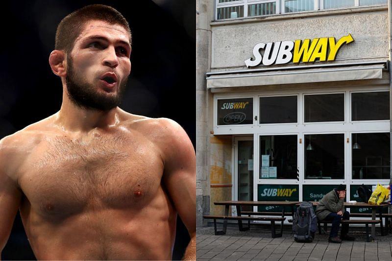 Khabib Nurmagomedov wanted to work at a Subway station in 2011
