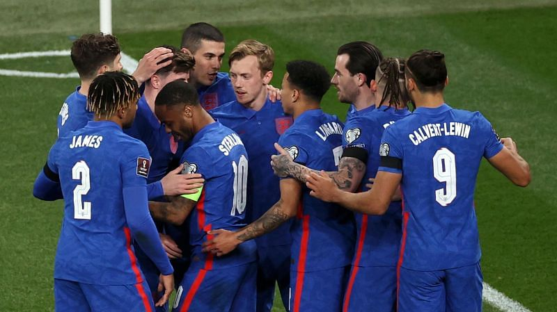England thrashed San Marino 5-0 in the 2022 FIFA World Cup qualifiers
