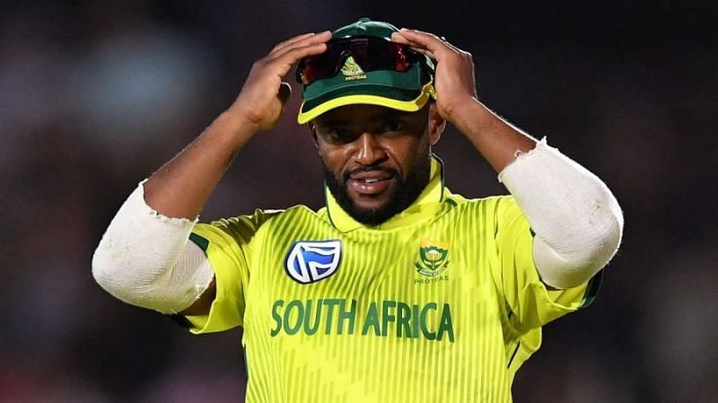Temba Bavuma - first-ever Black South African to lead the national side