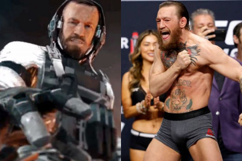 Conor McGregor made a cameo appearance in Call of Duty: Infinite Warfare. (Image credit: @CallofDuty via Twitter)