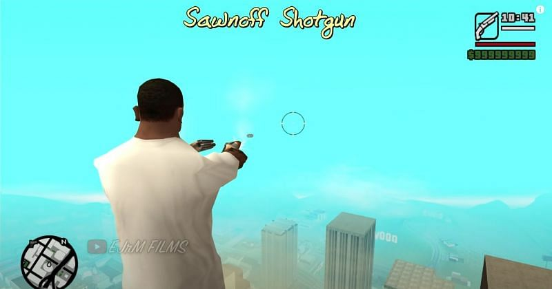 Fans loved the ability to dual-wield weapons in GTA San Andreas (Image via EJrM FILMS, YouTube)