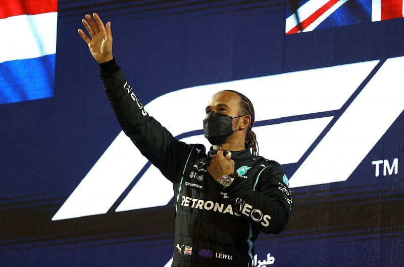 Lewis Hamilton won his 5th Bahrain Grand Prix on Sunday, 28th March. Photo by Bryn Lennon/Getty Images.