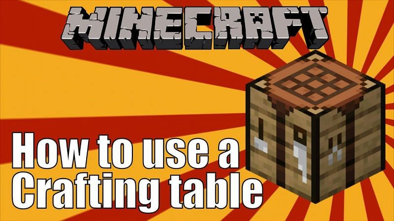 Crafting Table (Image via Ms. Hello Creeper on YouTube)