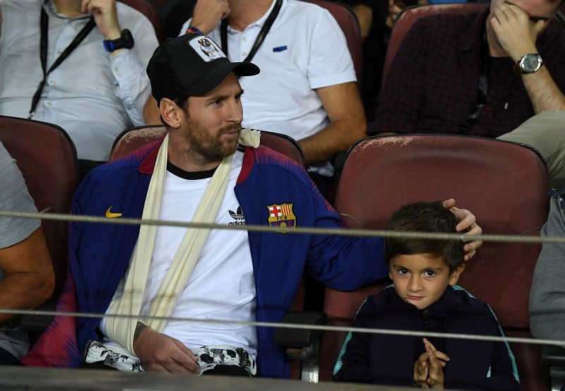 Lionel Messi has a strong bond with his sons
