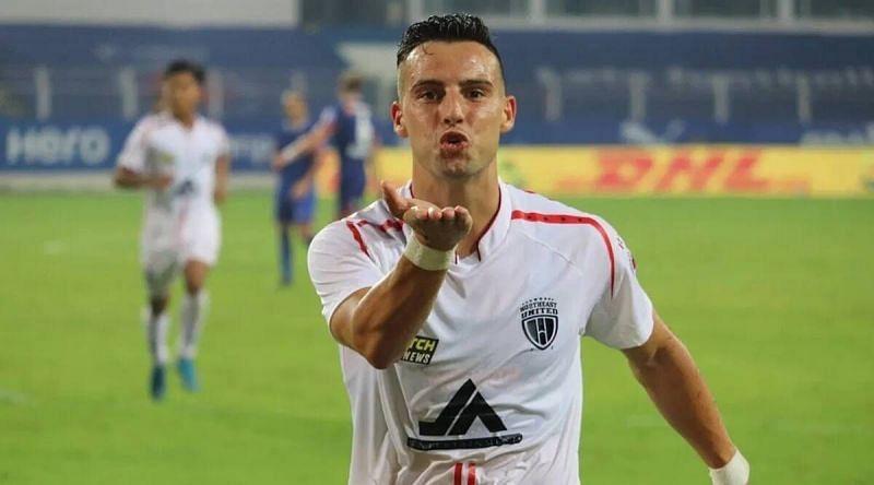 Luis Machado was a livewire for NorthEast United FC. (Image: ISL)