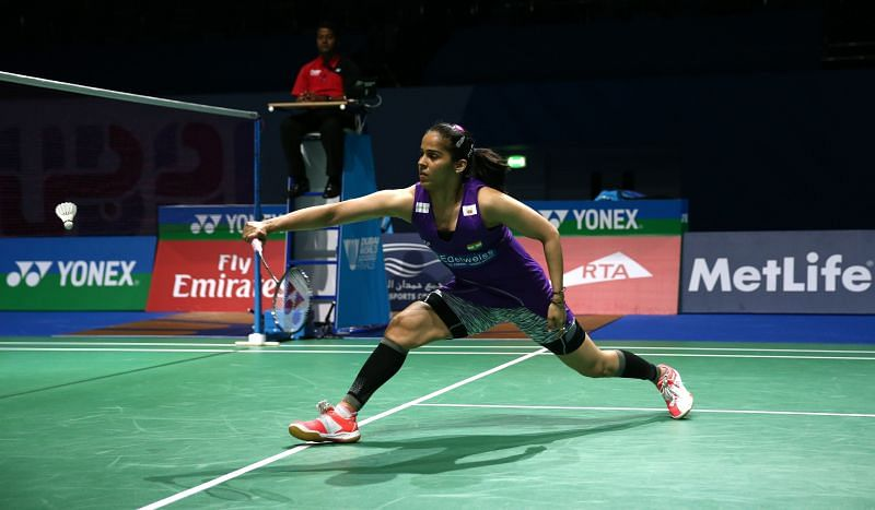 Ace Indian shuttler Saina Nehwal got off to a flying start at the Orleans Masters 2021.