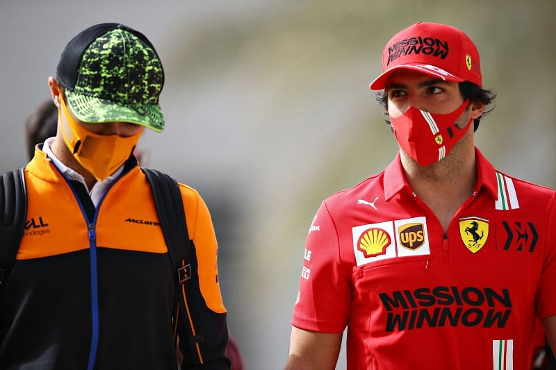 Carlos Sainz starts his journey at Ferrari in 2021. Photo: Mark Thompson/Getty Images.