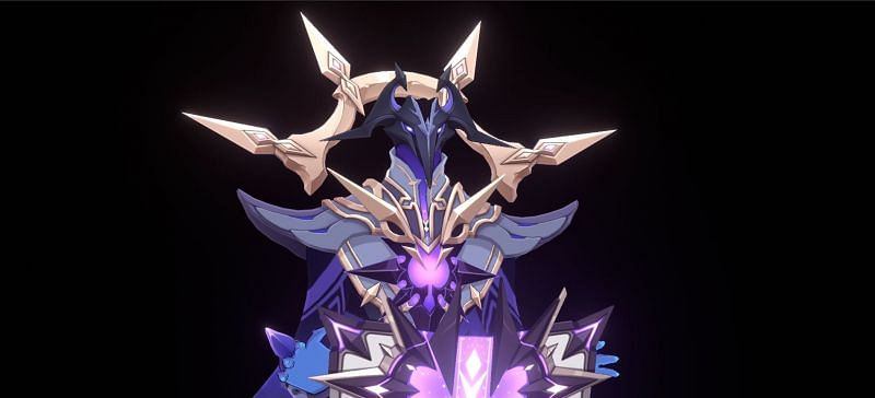 Abyss Lector, the upcoming Abyss creature in Genshin Impact (Image via Lumie & Unari)