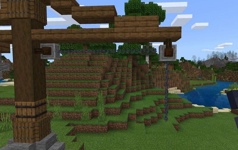 Chains (Image via Minecraft)
