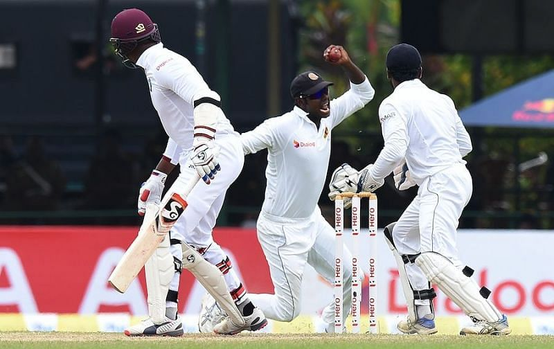 Sri Lanka have won two Tests on West Indies soil.