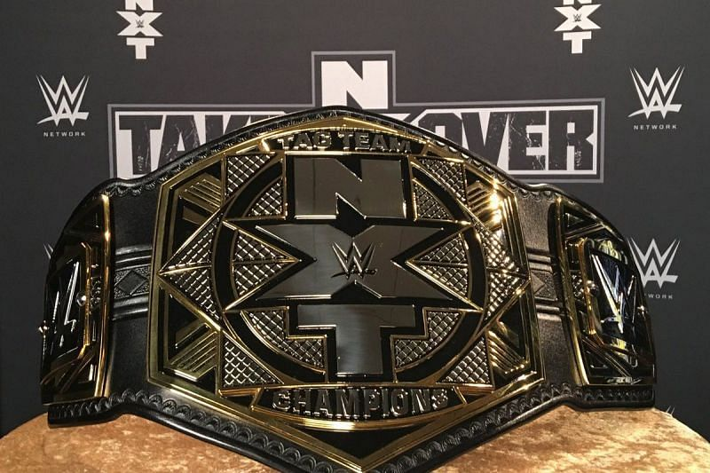 The WWE NXT Tag Team Championship