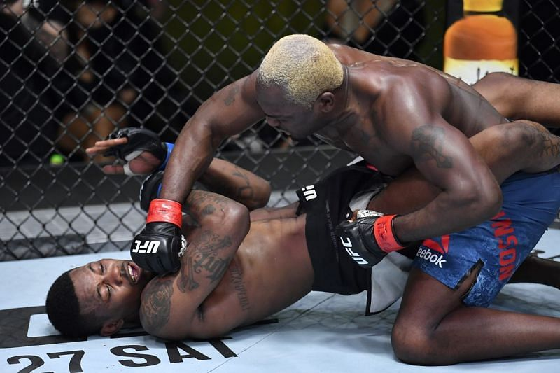 Derek Brunson beat Kevin Holland comprehensively.