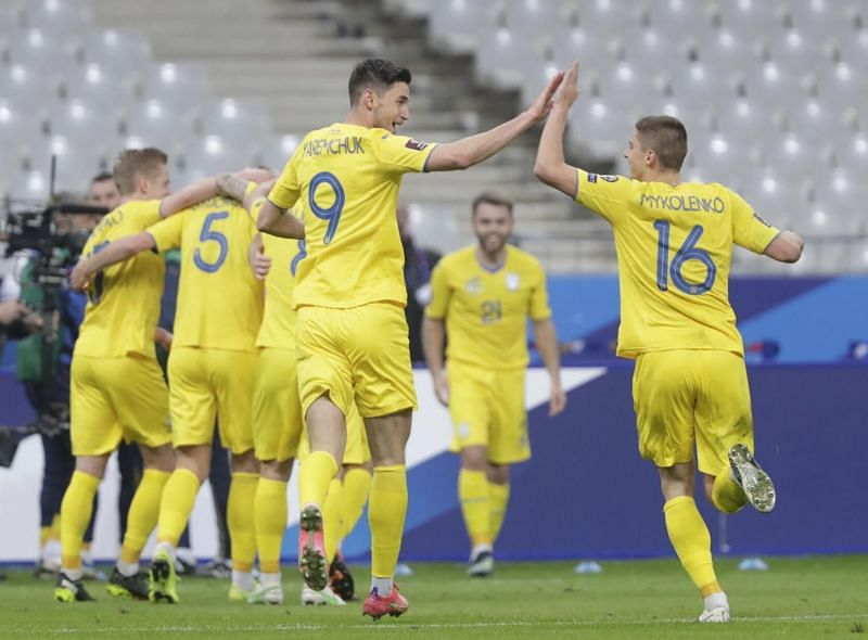Ukraine are seeking their first win of the qualifying campaign against Kazakhstan