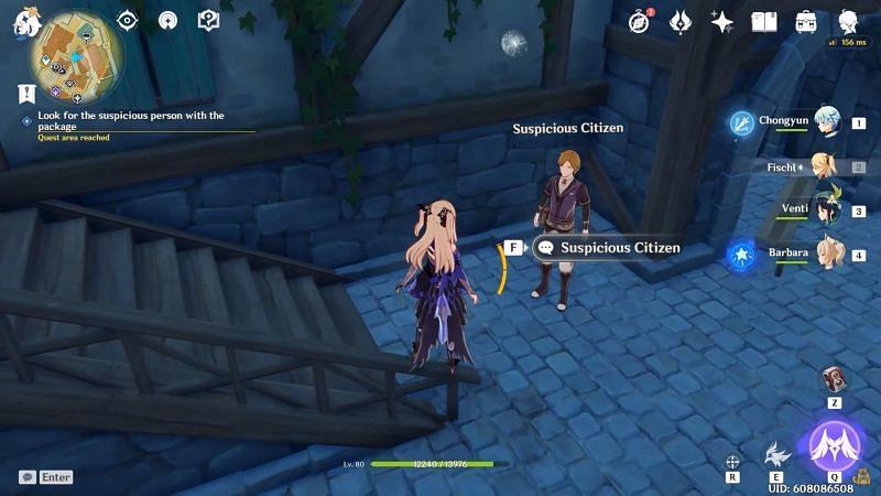 Suspicious Citizen (Image via Game Guides Channel)
