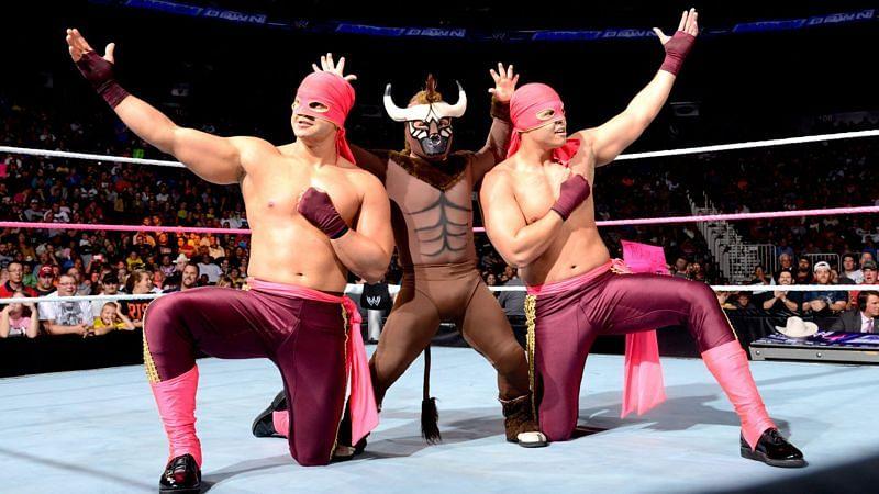 Los Matadores consisted of Diego, Fernando and El Torito