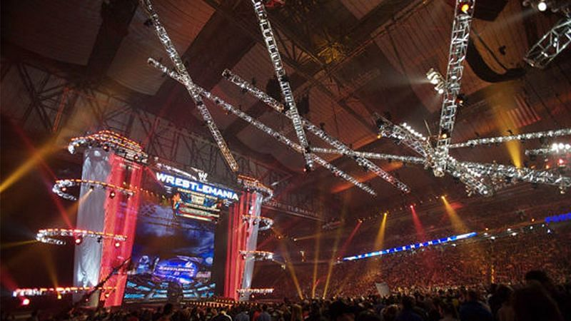 WWE WrestleMania 23 emanated from Ford Field in Detroit, Michigan