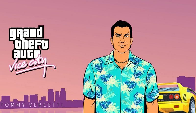 GTA Vice City is one of the best games in the GTA series (Image via Pinterest)