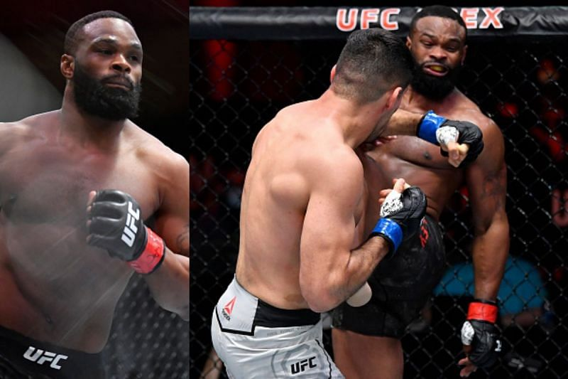 Tyron Woodley lost to Vicente Luque at UFC 260
