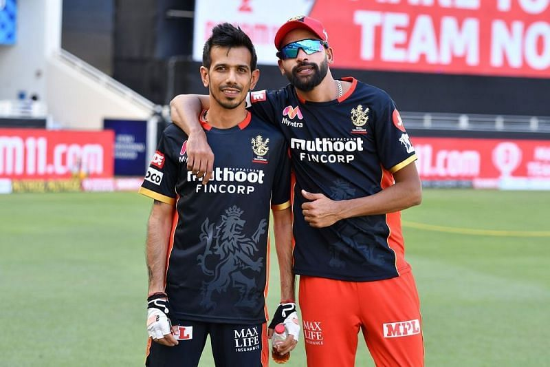 Yuzvendra Chahal and Mohammed Siraj have joined the RCB camp ahead of the 14th season of the IPL.