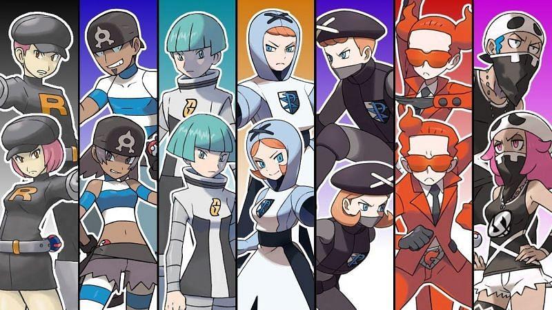Evil teams in Pokemon (Image via The Pokemon Company)