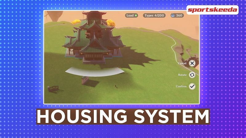 Genshin Impact 1.5 leak shows Housing system: Interior, furniture, pets, and decoration.