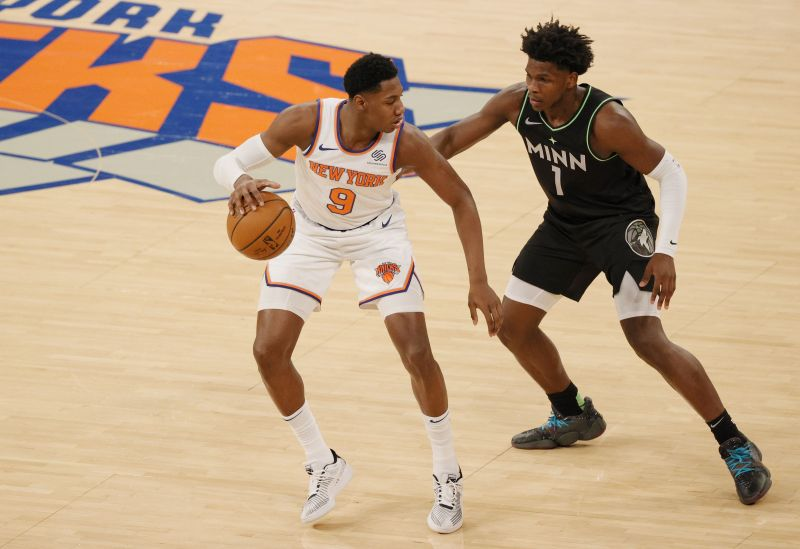 Minnesota Timberwolves vs New York Knicks