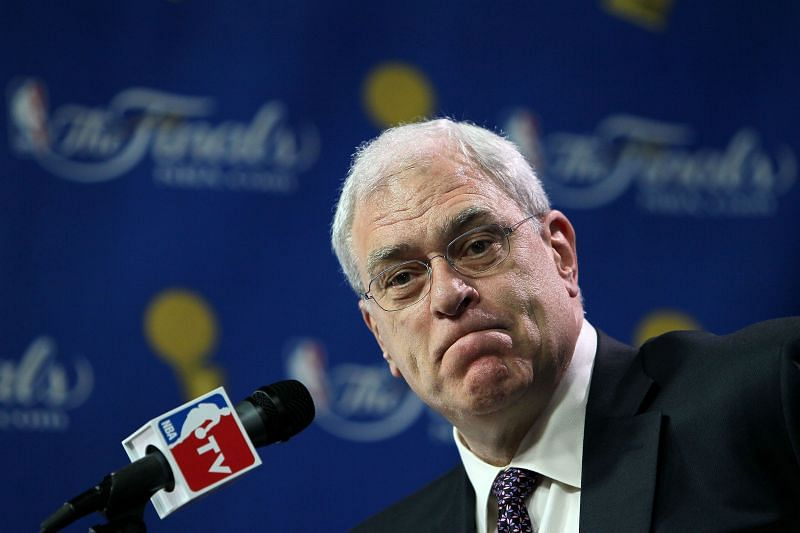 Phil Jackson in 2010.