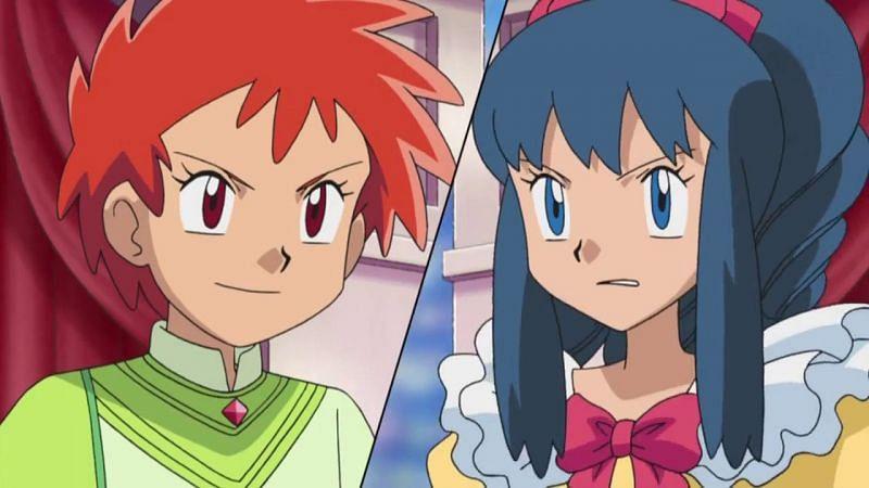 Zoey and Dawn (Image via The Pokemon Company