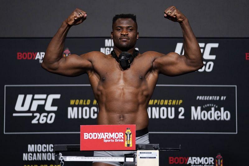UFC 260 Miocic v Ngannou 2:  Weigh-Ins