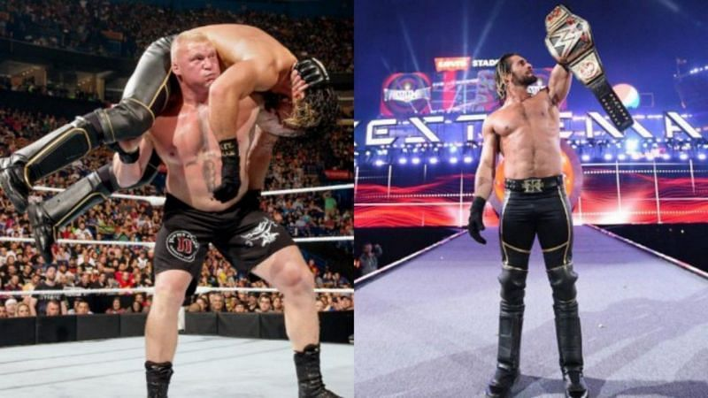 सैथ राॅलिंस WrestleMania 35 में ब्रॉक लैसनर को हराने में