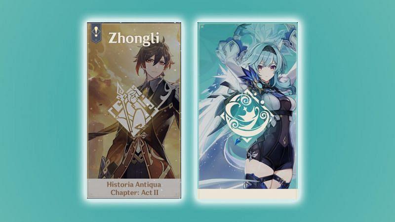 Eula and Zhongli