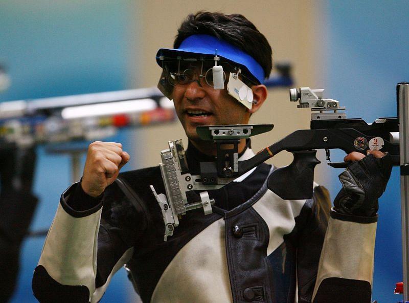Abhinav Bindra at 2008 Summer Olympics