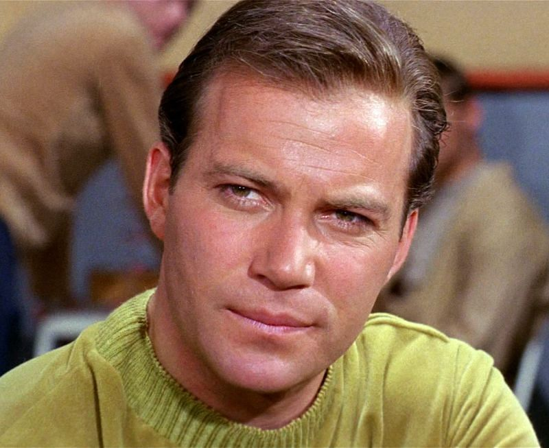 A young William Shatner.