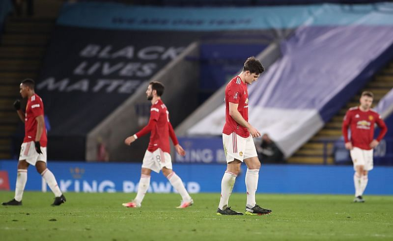 Manchester United lost a domestic fixture away from home for the first time since January 2020.