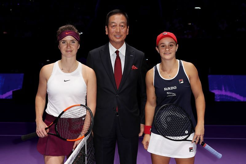 Ashleigh Barty last faced Elina Svitolina at the 2019 WTA Finals