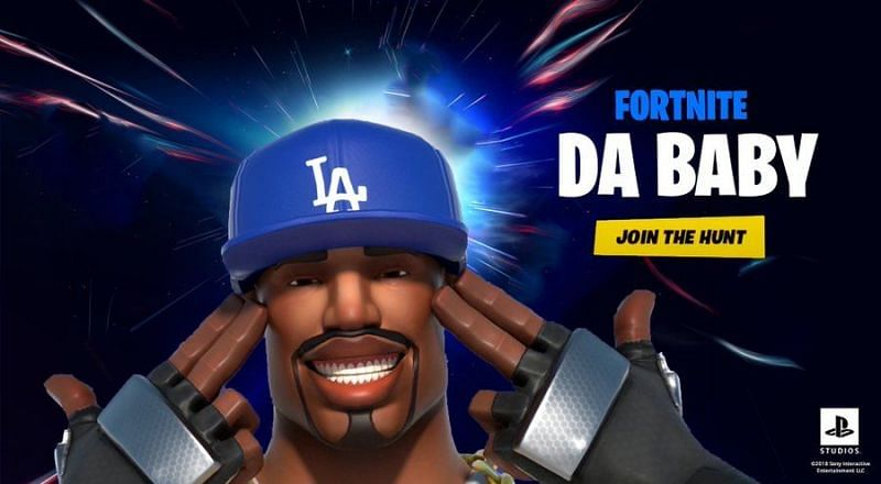 A DaBaby concert in Fortnite might just blow up the internet (Image via @JudlesNoodles, Twitter)
