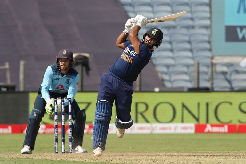 Rishabh Pant was in his element against England