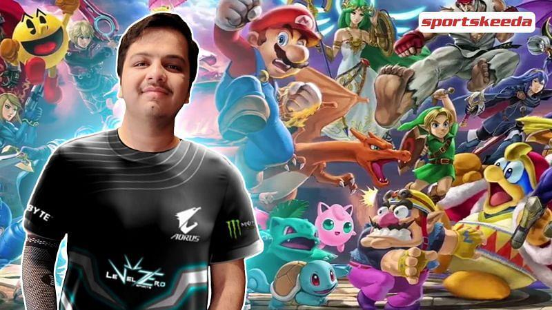 "Abhiroop ""LionHeart"" Verma, LevelZero Esports' Smash Bros. Ultimate star"