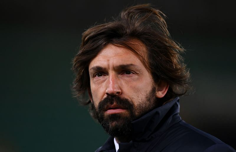 Andrea Pirlo. could continue as Juventus manager.