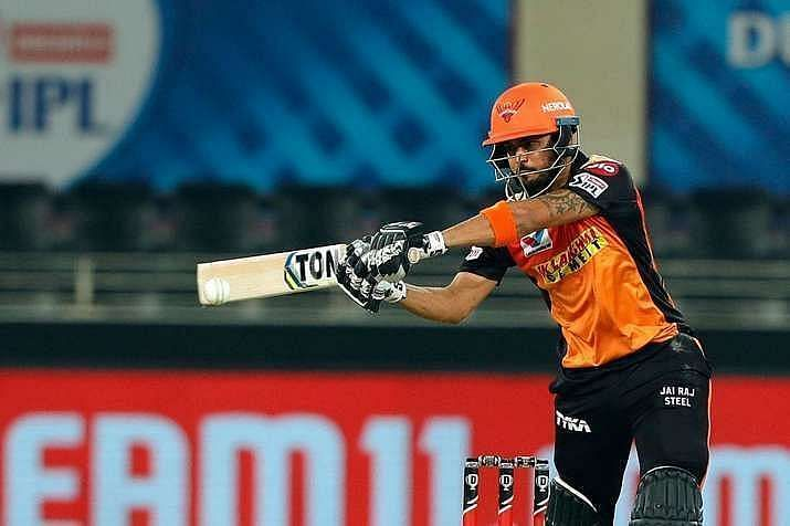 Manish Pandey was also dismissed twice by Yuzvendra Chahal in IPL 2020