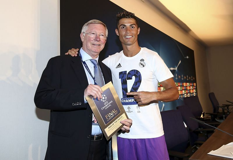Cristiano Ronaldo has played under some of the best managers of our time